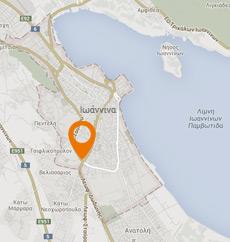 Χάρτης Ιωάννινα